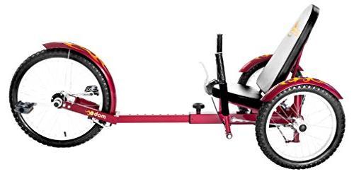 Mobo Triton Trike. Tricycle for & Men. Petal 3-Wheel