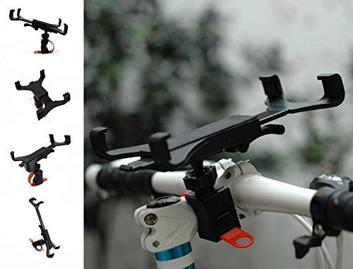 OCTO Premium Tablet Mount for Car, Bike, Cart, Desktop, Gym, Handlebar Inches