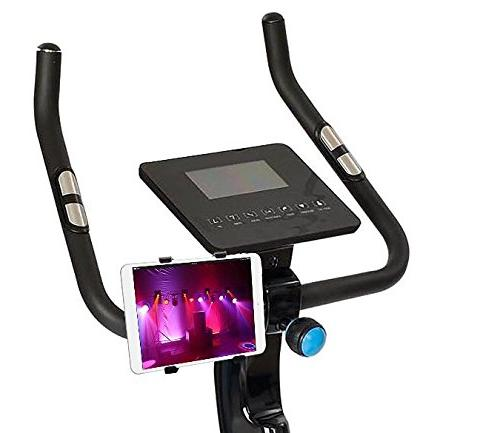 OCTO Universal Tablet Holder for Car, Bike, Stroller, Cart, Cart, Desktop, Motorcycle, Bike, Elliptical Handlebar To 1.41 Inches