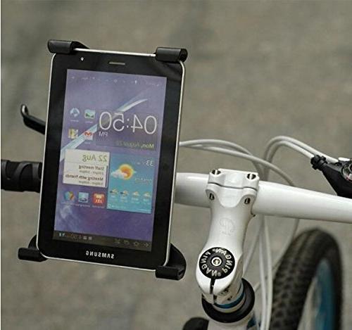OCTO Universal Tablet Mount Holder Car, Golf Desktop, Motorcycle, Bike, Elliptical Handlebar Up 1.41