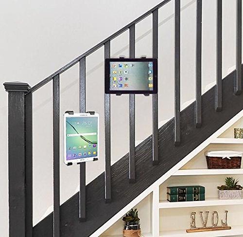 OCTO Tablet Mount Car, Stroller, Golf Cart, Desktop, Bike, Elliptical - Handlebar Up Inches