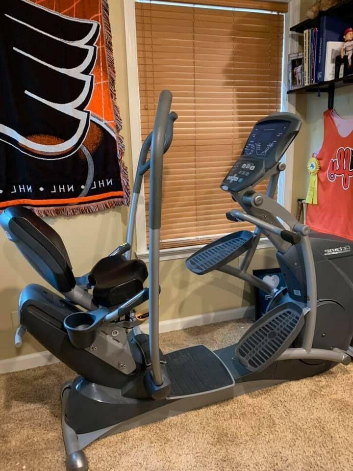 xr 6000 recumbent elliptical machine x ride