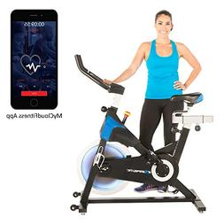 Exerpeutic LX 8.5 Indoor Cycling Exercise Bike with Bluetoot