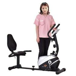 Goplus Magnet Recumbent Bike Exercise Bike Stationary Bicycl
