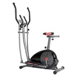 Body Champ Magnetic Cardio Dual Trainer, Silver/Red/Black/Gr