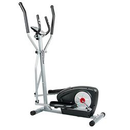 Body Champ Magnetic Elliptical Machine Exercise Trainer with