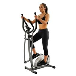 Magnetic Elliptical Machine Trainer Fitness Compact Pro Work