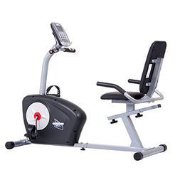 Body Champ Magnetic Programmable Comfort Recumbent Bike BRB5