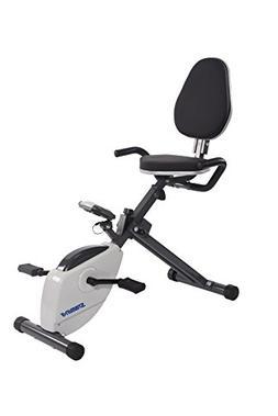 Stamina Magnetic Resistance Folding Recumbent Exercise Bike