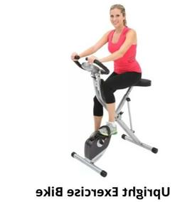 Exerpeutic Magnetic Upright Exercise Bike with Heart Pulse S