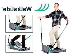 Walkslide Manual Treadmill,Elliptical & Nordic Skier in one!