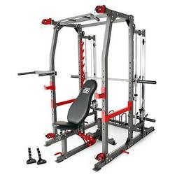 Marcy Pro Smith Machine Weight Bench Home Gym Total Body Wor