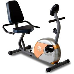 Marcy ME-709 Recumbent Exercise Bike with Resistance