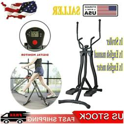 Multi Directional Elliptical Air Glider 360° Leg Move Fitne