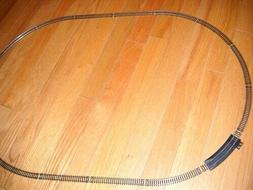 "MODEL POWER ""N"" SCALE SET OF OVAL TRAIN TRACK ABOUT 30""x20"""