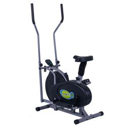 New 2 IN 1 Fitness Elliptical Machine Bike Trainer Exercise