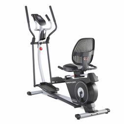 new in box hybrid trainer elliptical