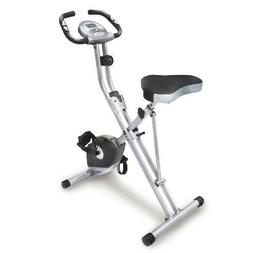 New Exerpeutic Magnetic Upright Exercise Bike with Heart Pul