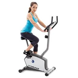 Marcy Upright Exercise Bike with Adjustable Seat and 8 Magne