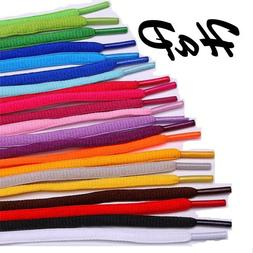 OVAL Shoelaces for Jordan Puma Adidas Nike jogging running S