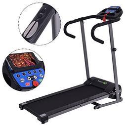 New Pink 500W Portable Folding Electric Motorized Treadmill