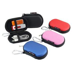 Portable Earphone <font><b>Wire</b></font> Storage Bag Mini