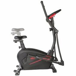 2in1 Cardio Dual Trainer Elliptical Workout Stationary Exerc