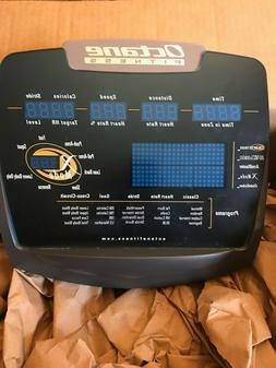 Octane Fitness Q47 elliptical upper console w/assemby