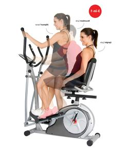 Recumbent Bike With Arm Exercise For Office Home Elliptical