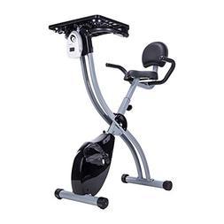 Pinty Recumbent Cycling Workstation, Foldable Upright Exerci