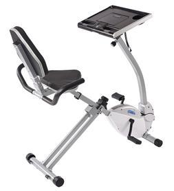 Stamina Recumbent Exercise Bike with Workstation