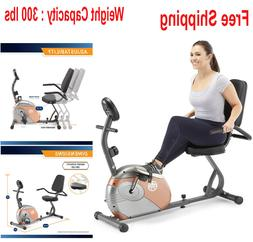Marcy Recumbent Exercise Bike with Resistance ME-709 Free Sh