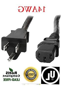 Premium Huetron 15ft Replacement Power Cord for Sole Fitness