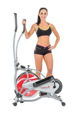 Sunny Health and Fitness SF-E1405 Flywheel Elliptical Traine