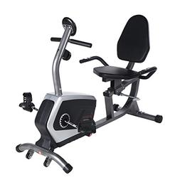 Sunny Health & Fitness SF-RB4616 Magnetic Recumbent Bike Exe