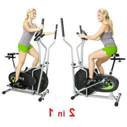 Stationary Exercise Bike Elliptical Fitness Machine Cycling