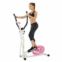 Sunny Health & Fitness P8300 Pink Magnetic Elliptical Tr