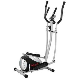 Sunny Health & Fitness 905 Magnetic Elliptical Trainer, Blac