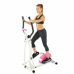 Sunny Health and Fitness P8300 Pink Magnetic Elliptical