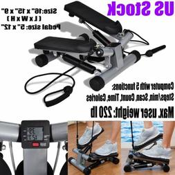Swing Stepper Twist Training Elliptical Machine With Resista