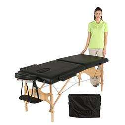 Exerpeutic Tahoe Heavenly Massage Table with Extended Side A