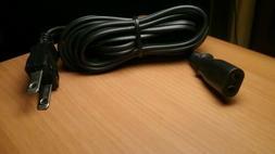 Technics Turntable Power Cord - Plain Oval Shape