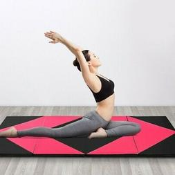 Thick Gymnastics Fitness Exercise Mat with Folding Panel SP3