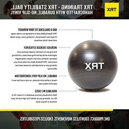 TRX Training Stability Ball, Made with Durable, No-Slip Viny