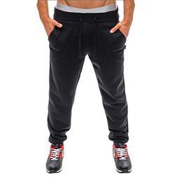 AMSKY❤ Men Trouser, Gym Workout Sport Tracksuit Fitness Wo