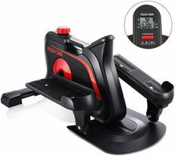 ANCHEER Under Desk Cycle,Indoor Mini Pedal Exerciser Ellipti