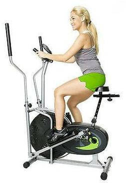 Upright Exercise Bike Elliptical Fitness Machine Equipment C