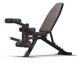 Marcy Adjustable 6 Position Utility Bench with Leg Developer
