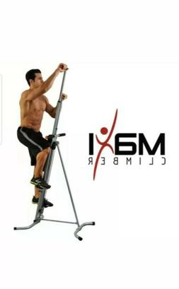 "MaxiClimber - The original patented Vertical Climber,""As See"
