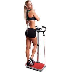 Hurtle Vibration Platform Fitness Machine - Full Body Exerci